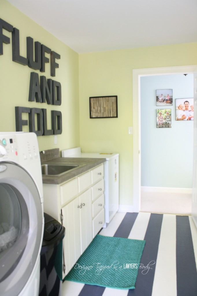$71.00 DIY Laundry Room Makeover | Thrifty Makeover Tips!