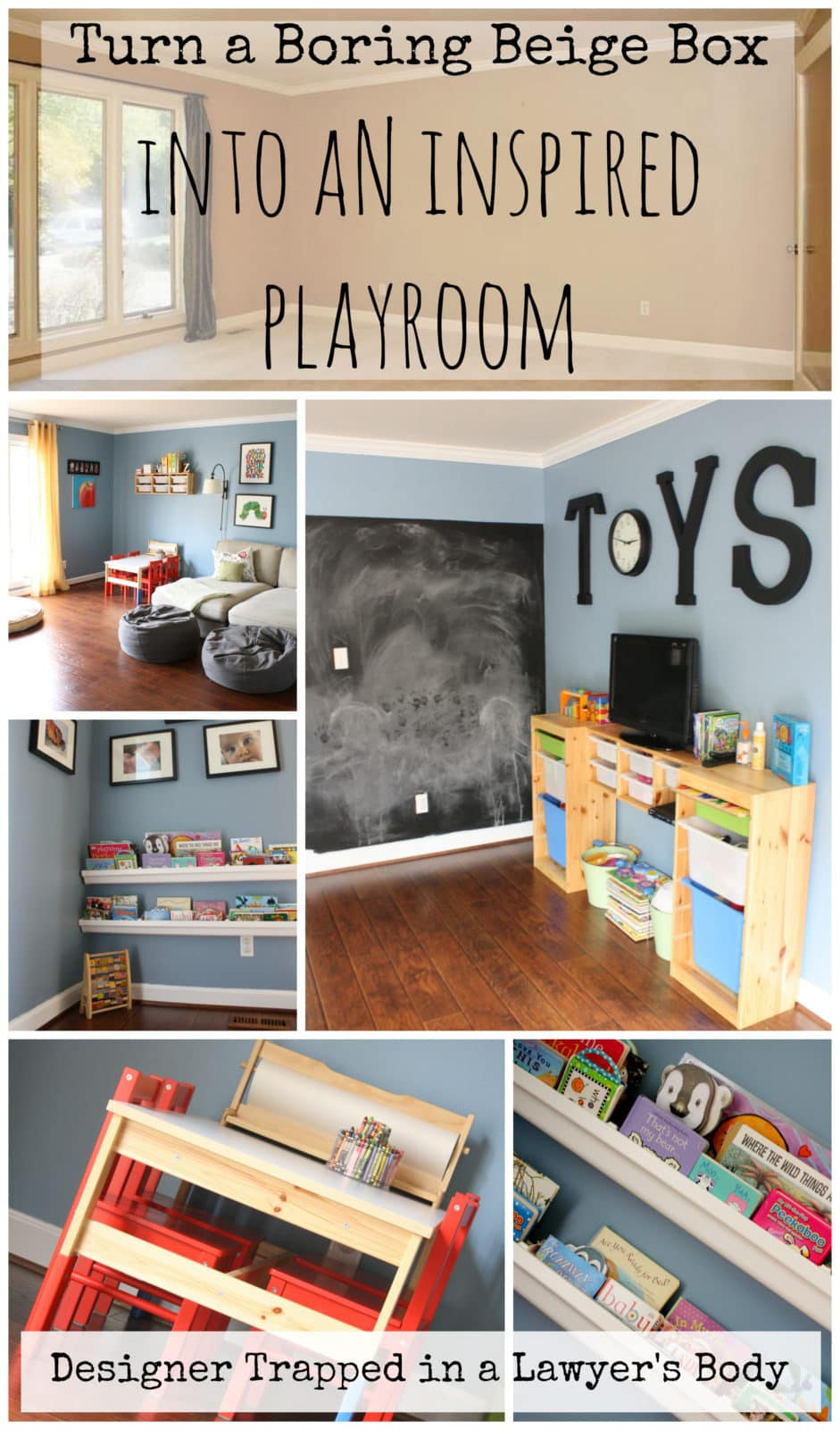 This Time It Is The Living Room Turned Playroom Reveal Let S Start By Reviewing What Looked Like When We