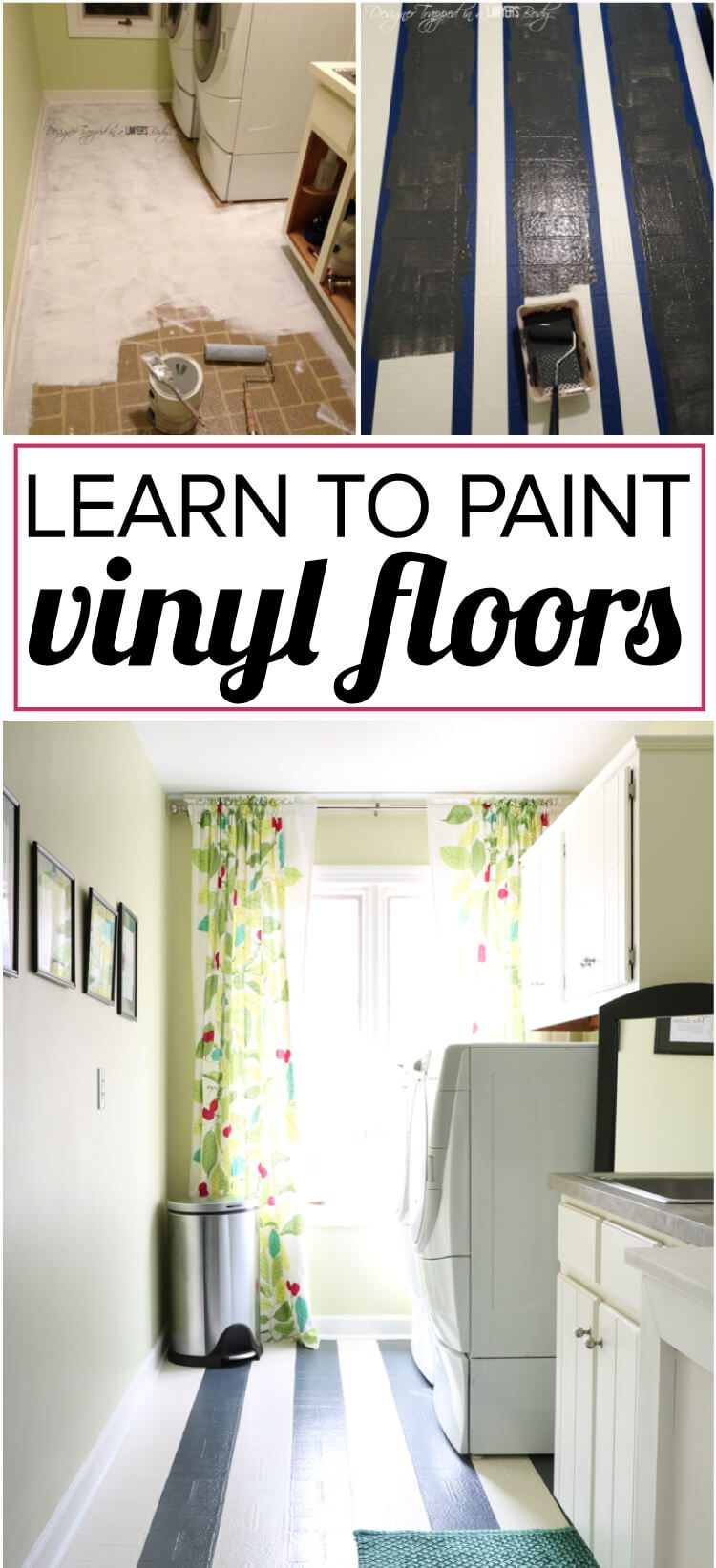 How To Paint Vinyl Floors Long Lasting Results Designer