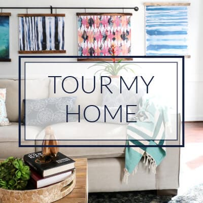 Tour My Home full of DIY Home Decor Projects!