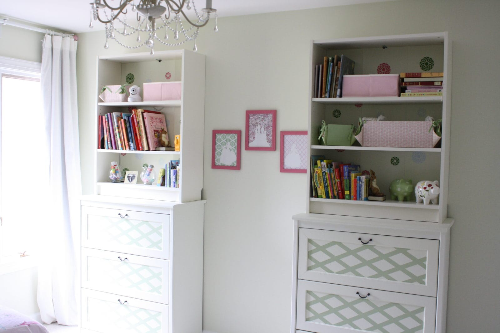 Bookcase Bedroom Furniture Customize Ikea Furniture With Paint Ikea Hack By Designer