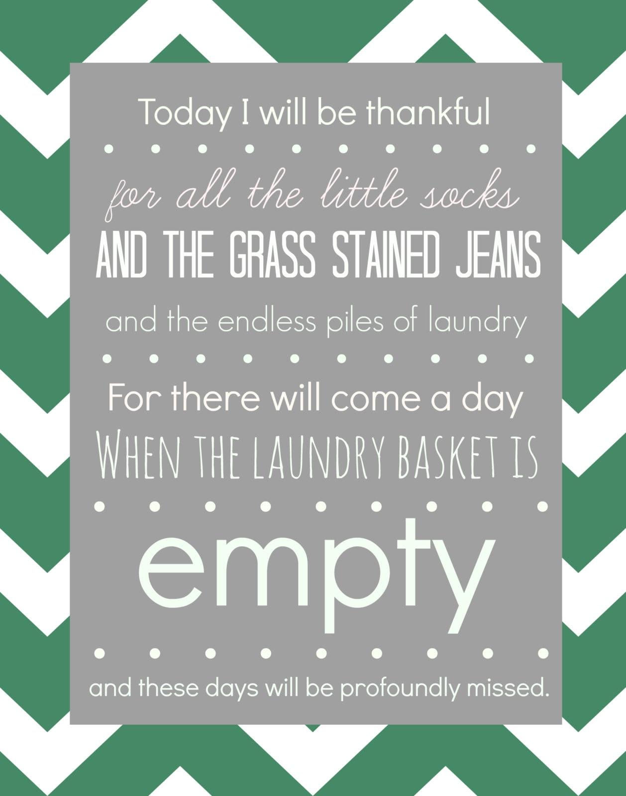 Laundry-printable