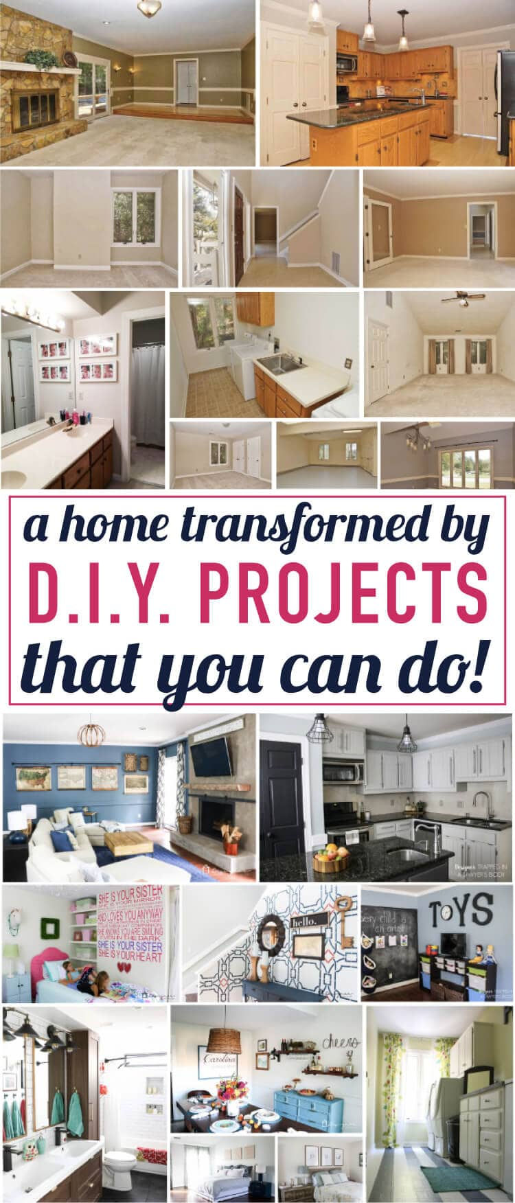 Tour My Home full of DIY Home Decor Projects ...