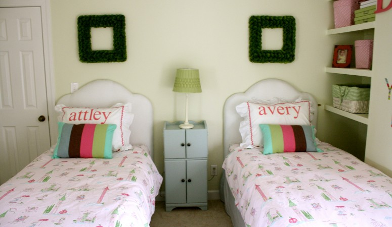 DIY Upholstered Headboard {you can make in one afternoon}!