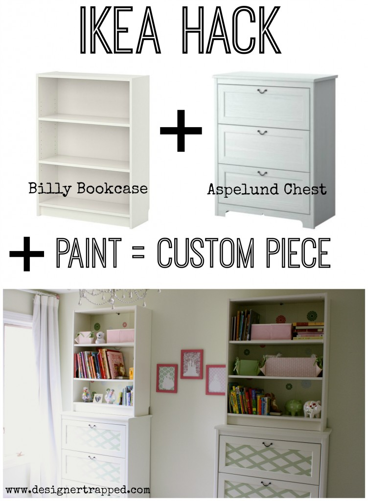 Ikea Hack: Customize Ikea Furniture by Designer Trapped in a Lawyer's Body {www.designertrapped.com}