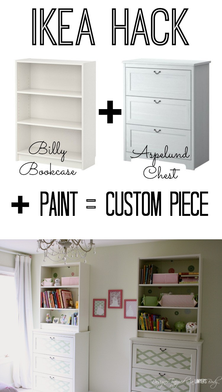 Customize ikea furniture paint transformation Ikea hacking