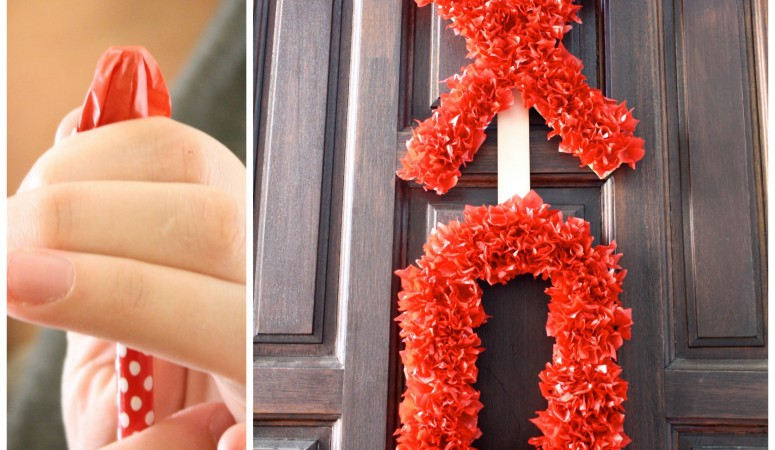 Valentine's Day Wreath Tutorial and a Giveaway!