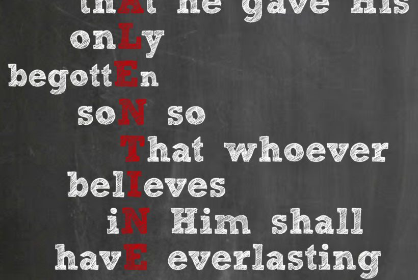 Free Valentine's Day Printable featuring John 3:16 by Designer Trapped in a Lawyer's Body {www.designertrapped.com}