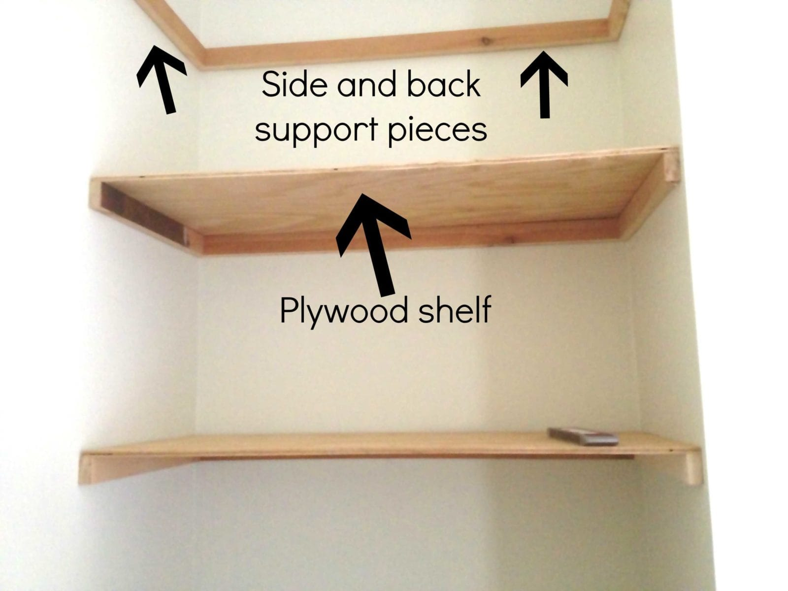 Floating Bookshelves diy floating shelves {joe's corner debut!} | designer trapped in a