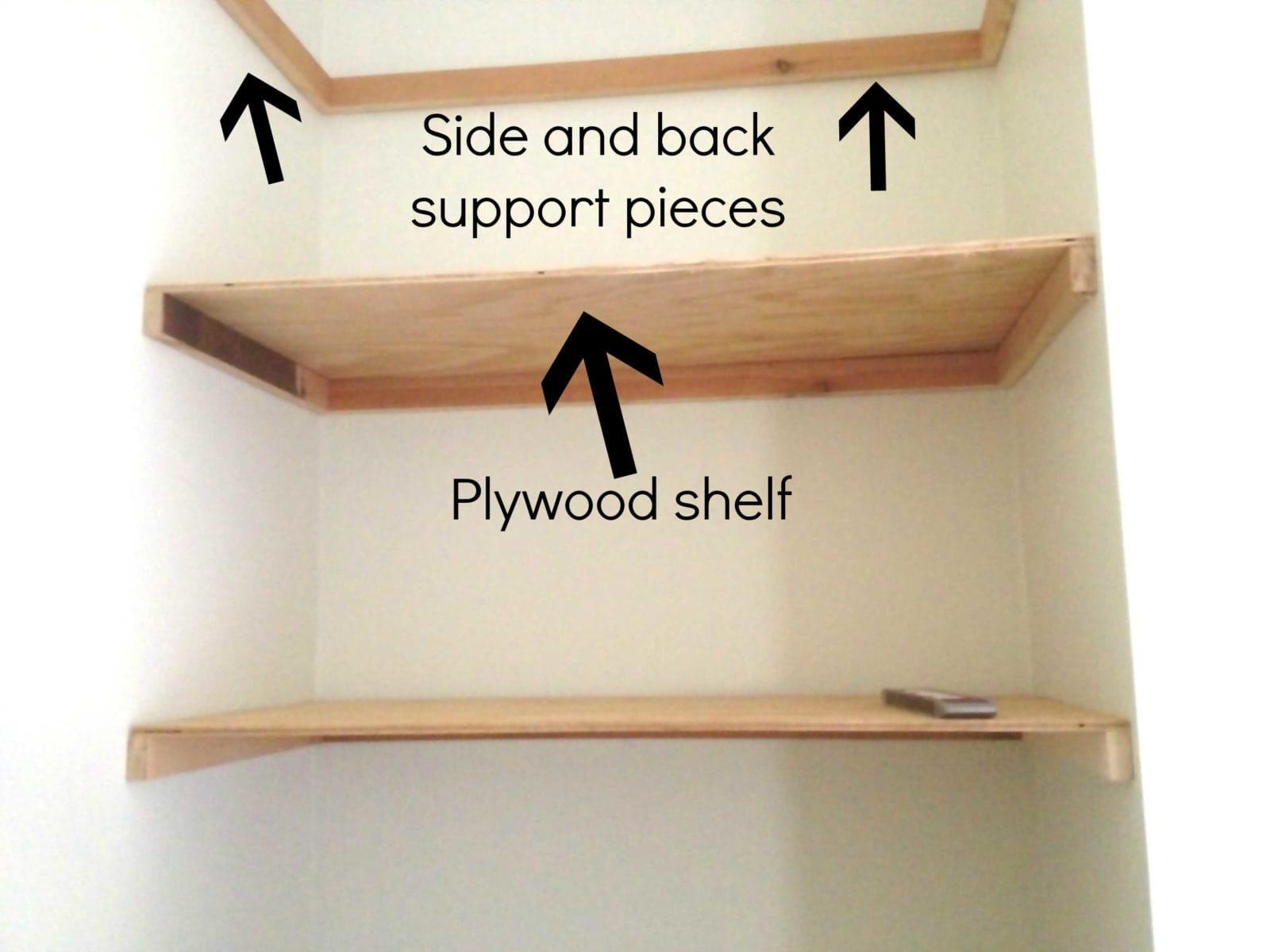 Diy Floating Shelves Joe S Corner Debut Designer Trapped