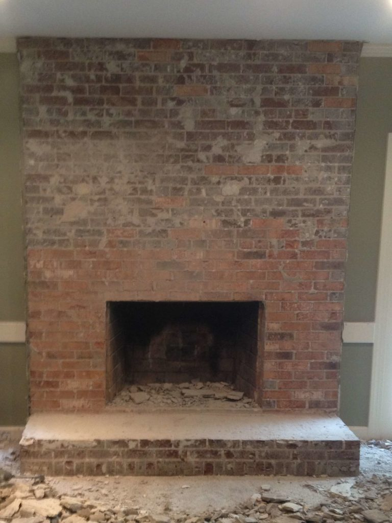 DIY Concrete Fireplace by Designer Trapped in a Lawyer's Body {www.designertrapped.com}