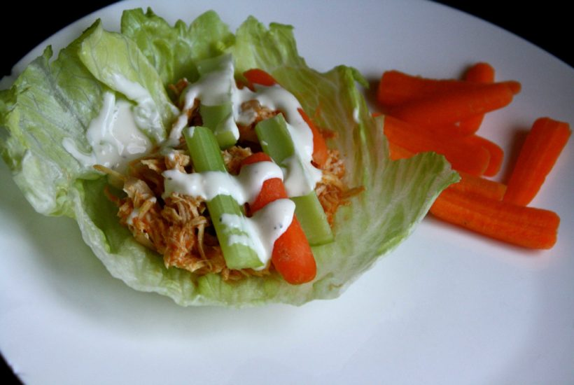 """How We """"Do It All"""" No.1 {Buffalo Chicken Lettuce Wraps}"""