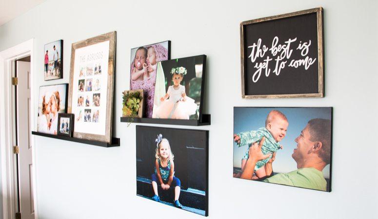 DIY Photo Canvas Prints With Authentic Texture