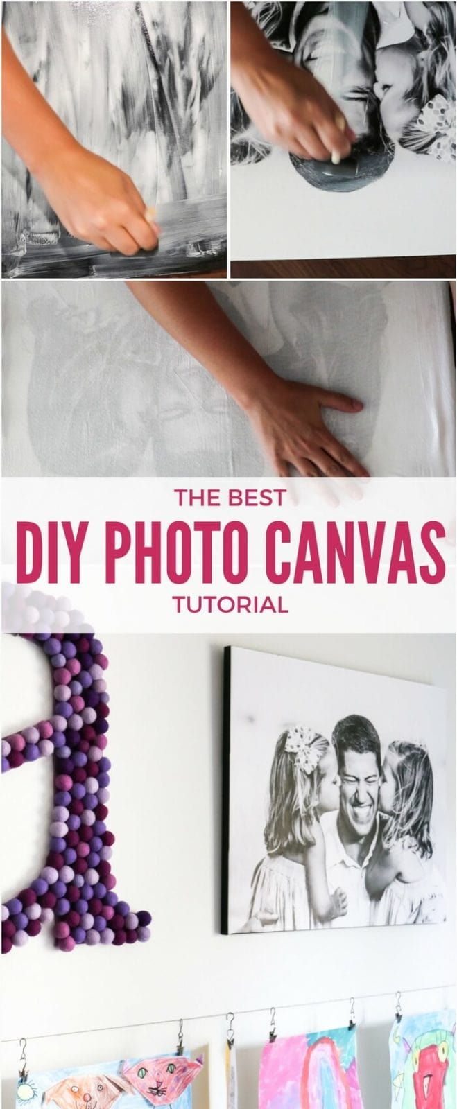 diy photo canvas prints with authentic texture | designer trapped