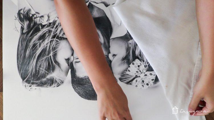 I believe canvas wall art white dress
