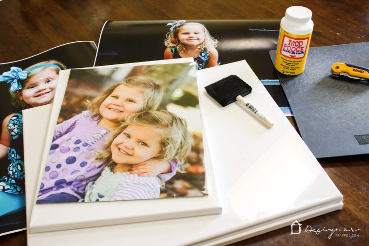 DIY Photo Canvas Prints With Authentic Texture ...
