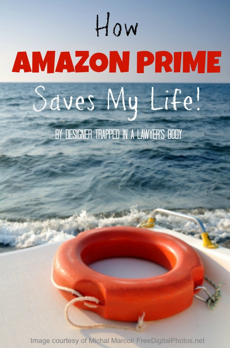 Learn about all the benefits of Amazon Prime and how it is a total life saver for my busy family! By Designer Trapped in a Lawyer's Body {www.designertrapped.com}