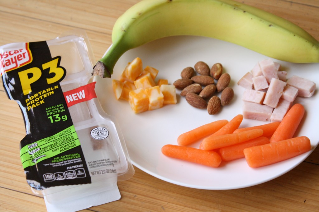 P3 Portable Protein Packs! Add fruit and veggies for a lovely meal! #shop #cbias #portableprotein