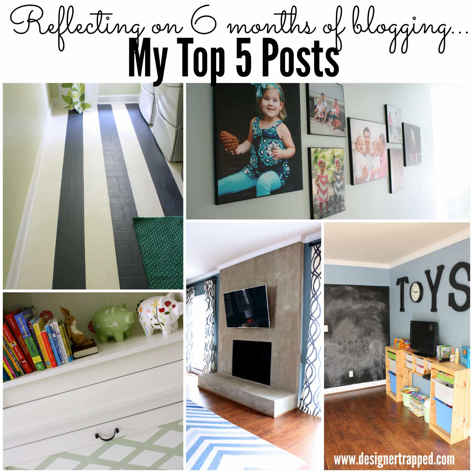 Pin now, read later!  My Top 5 posts after 6 months of blogging by Designer Trapped in a Lawyer's Body {www.designertrapped.com}