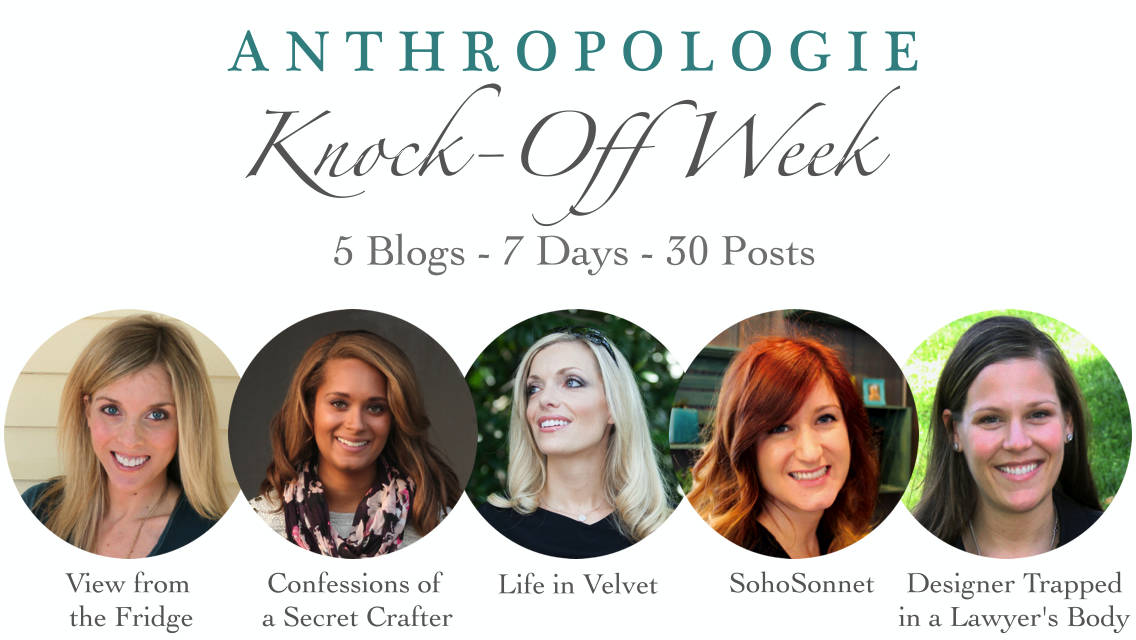 Anthropologie Knock Off Week