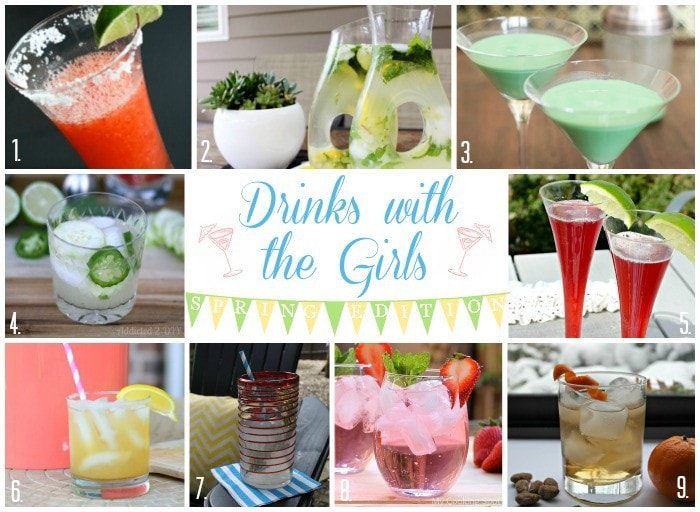 MUST PIN! 9 Fabulous Spring Cocktails!