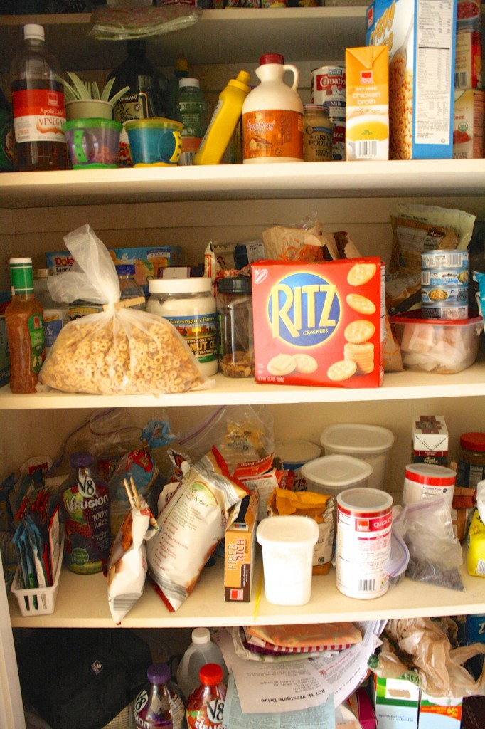 Pantry Organization by Designer Trapped in a Lawyer's Body {www.designertrapped.com}