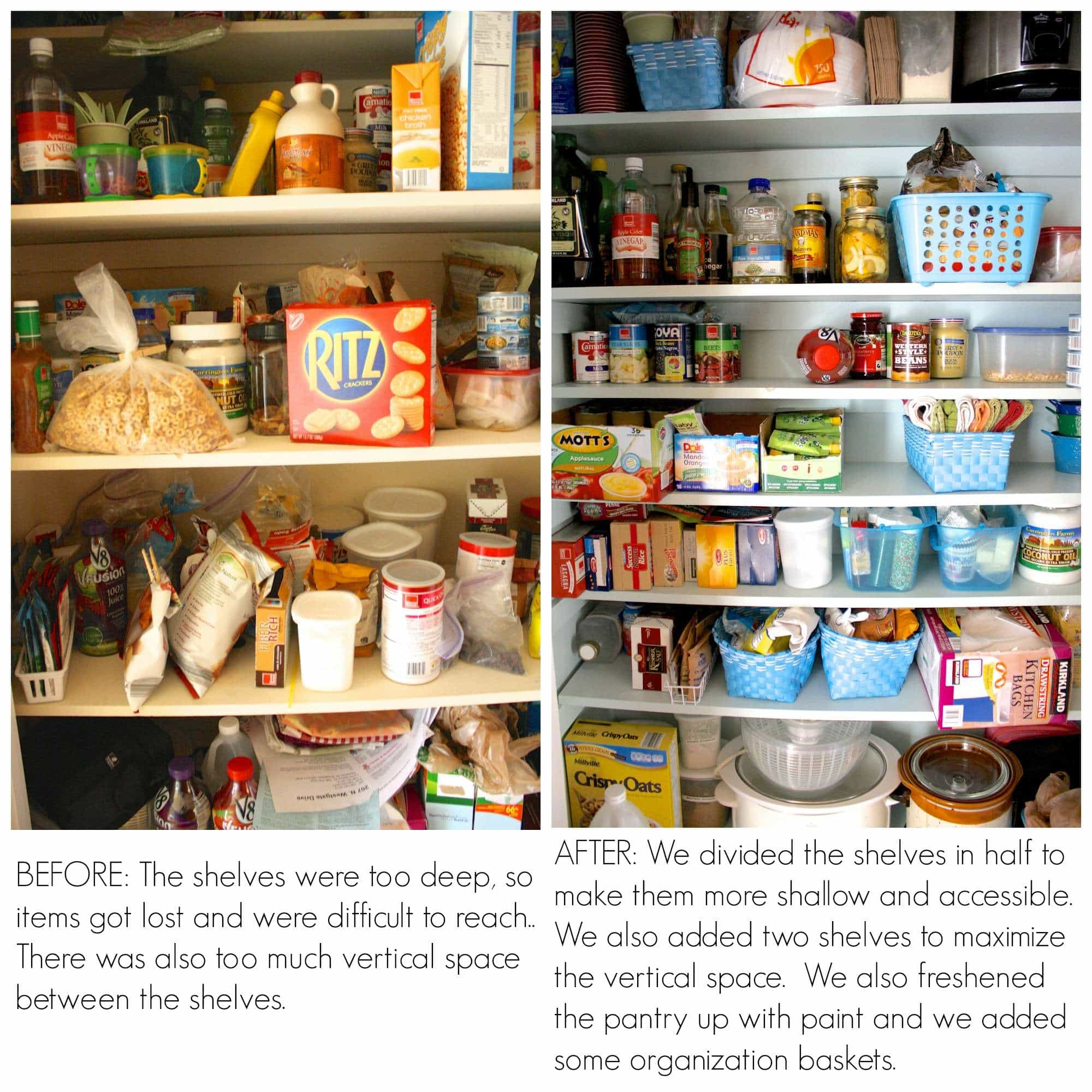 Deep Closet Organization Ideas Part - 44: Pantry Organization Ideas By Designer Trapped In A Lawyeru0027s Body  {www.designertrapped.com