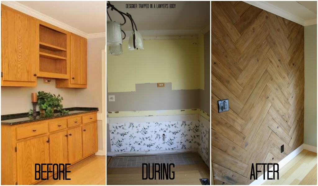 Creating a useable eat-in kitchen area! By Designer Trapped in a Lawyer's Body!