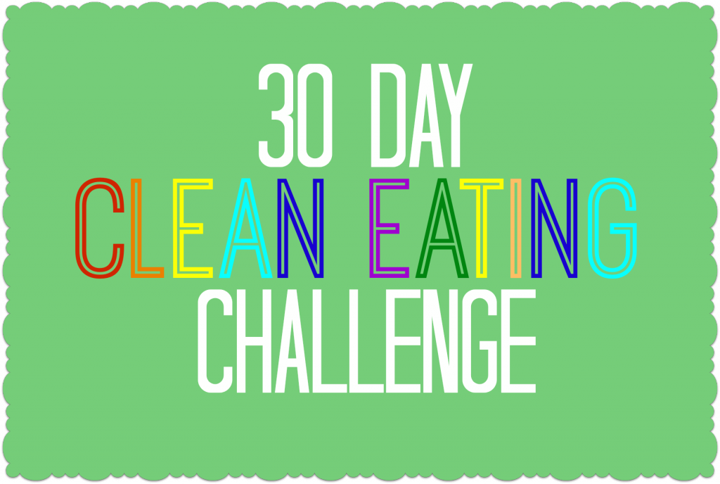 30 Day clean eating challenge with Designer Trapped in a Lawyer's Body. #cleaneating