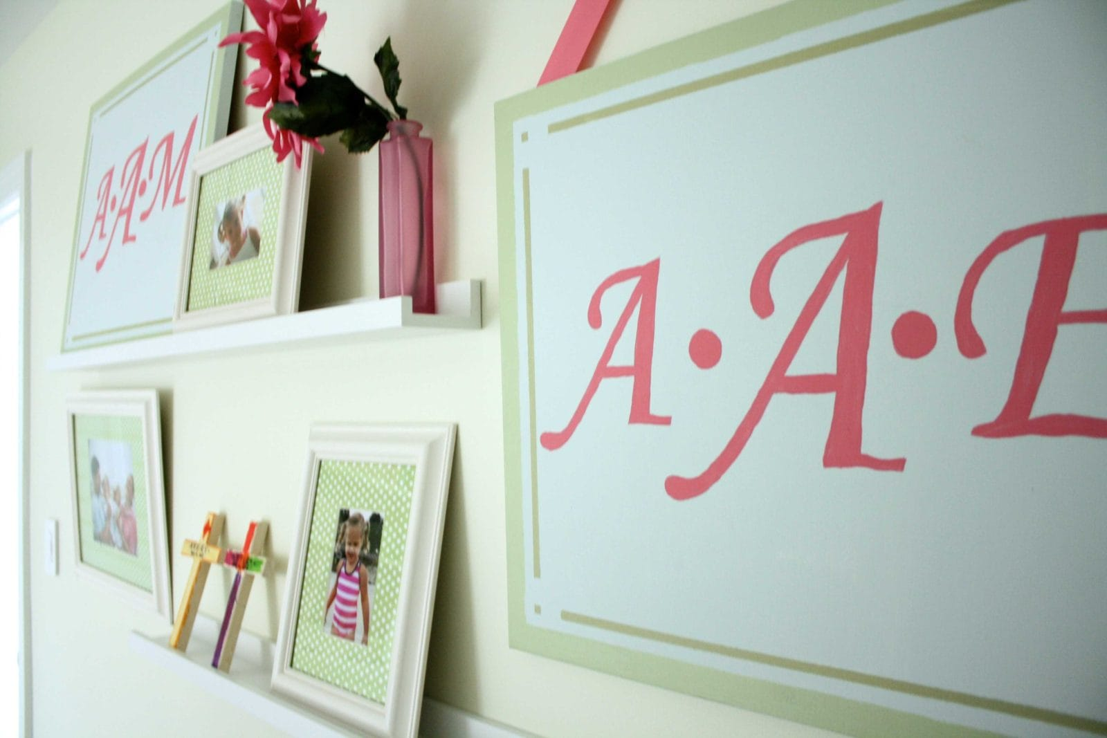 the twins bedroom update a girly gallery wall designer create a girly gallery wall full details from designer trapped in a lawyer s body