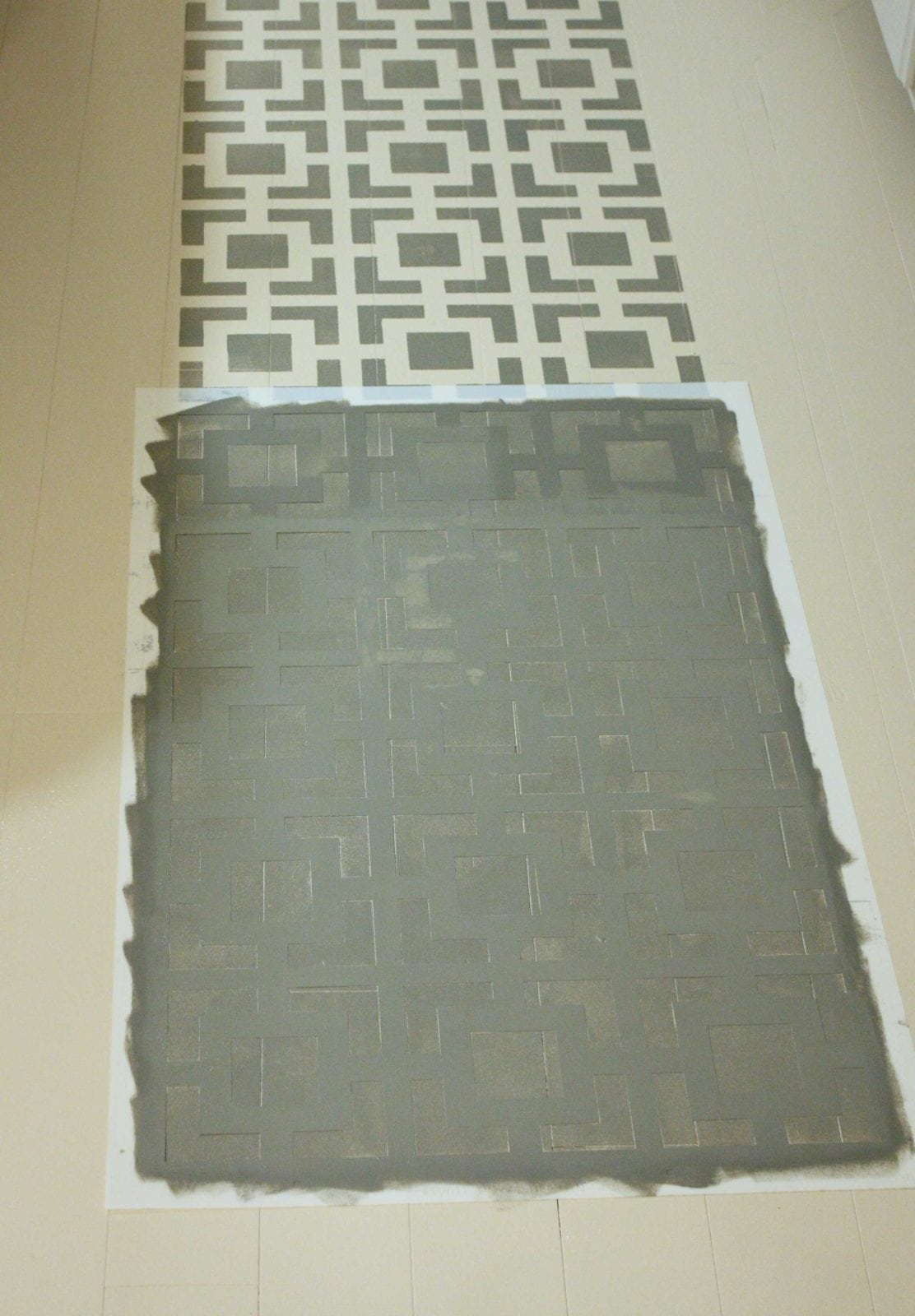 Painted Kitchen Floor Royal Design Studio Stencil Review And A Peek At My