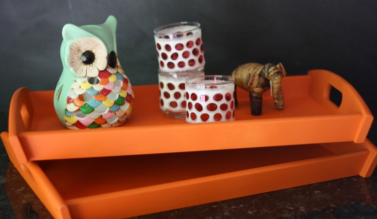 Knock Out Knock Offs: West Elm Inspired Lacquer Trays