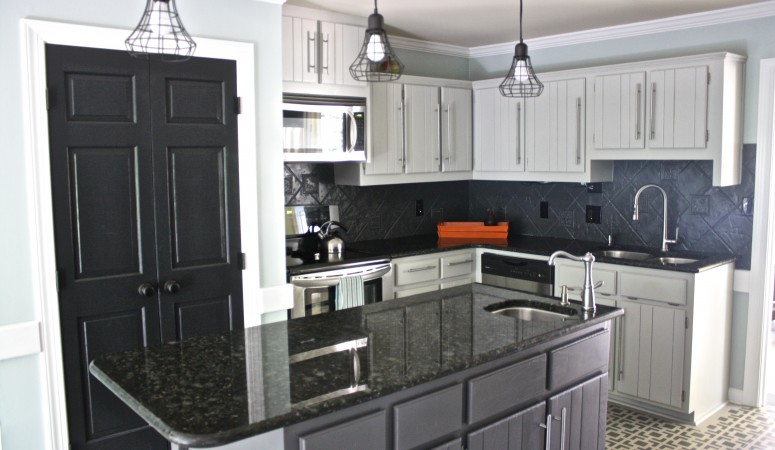 Our Budget Kitchen Remodel REVEAL ~ Part 1