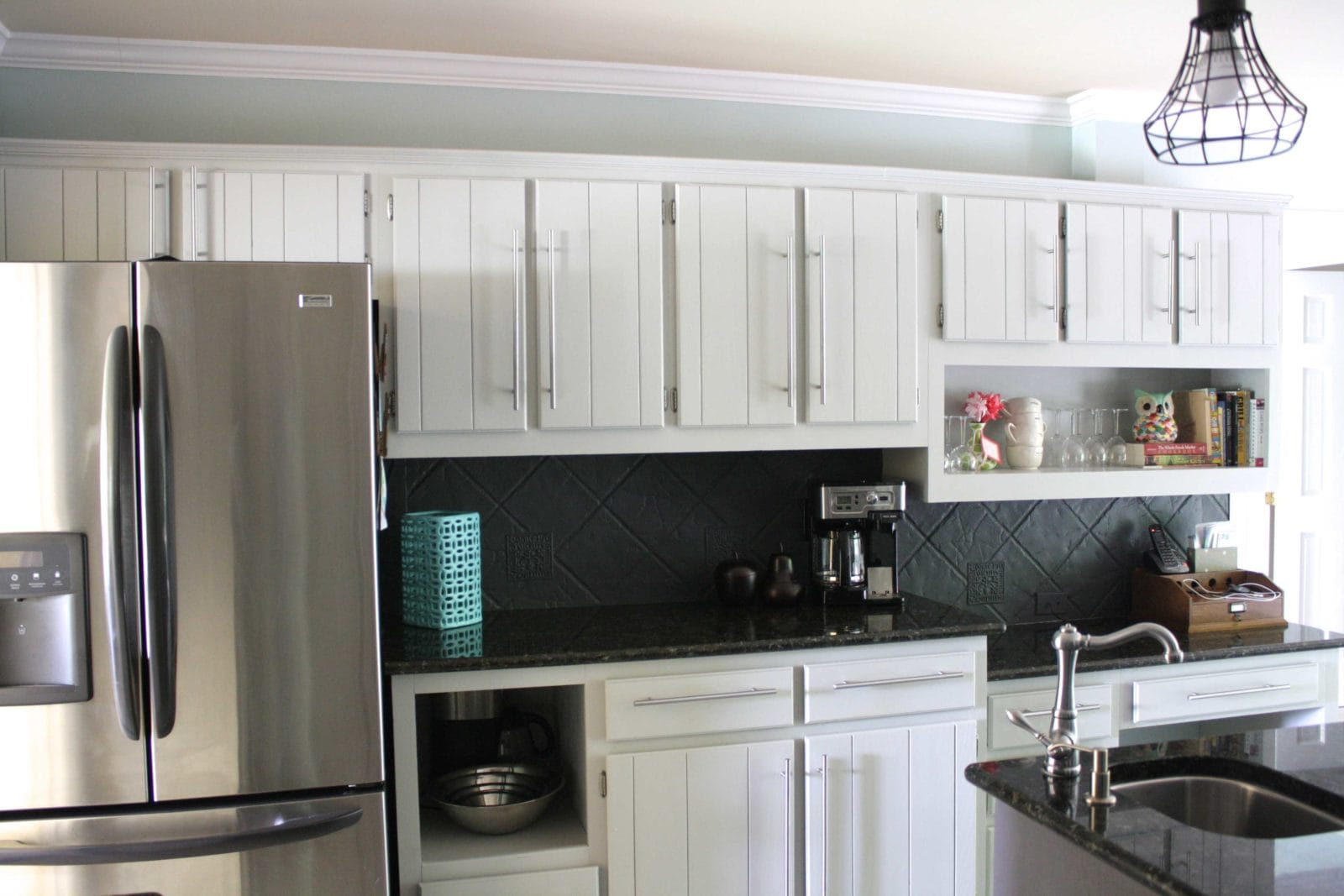 Our Budget Kitchen Remodel REVEAL ~ Part 1 | Designertrapped.com
