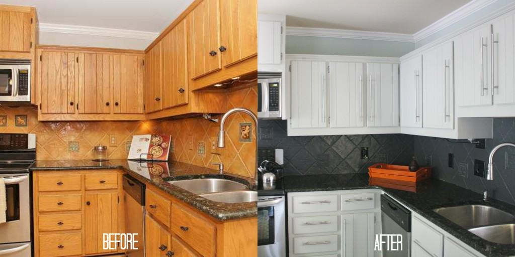 Our Budget Kitchen Remodel REVEAL  Part  Designer Trapped In A - Cheap kitchen cabinets