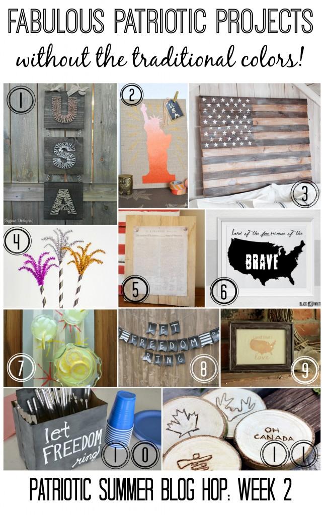 Patriotic SBH Week 2 Collage