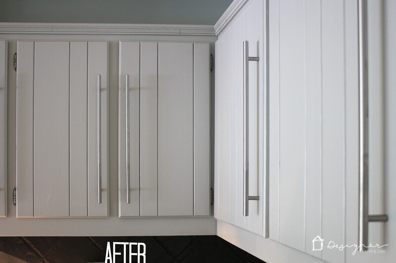 How To Paint Kitchen Cabinets Without Sanding or Priming - Step by Step