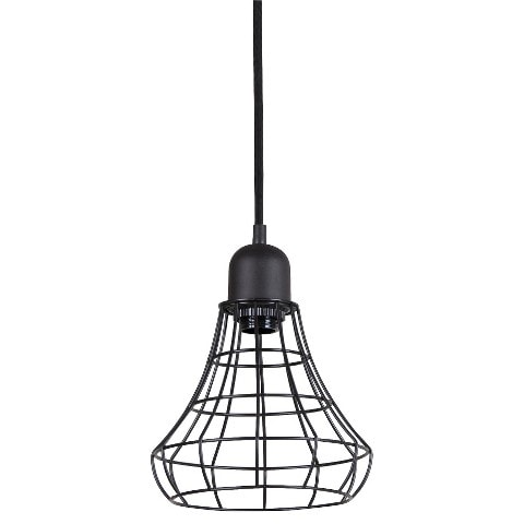 plug in industrial lighting. awesome roundup of industrial pendant lighting by designer trapped in a plug