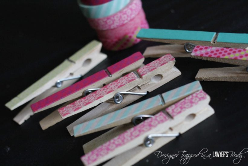 Knock Out Knock Offs: Urban Outfitters Inspired Clothespin Crafts
