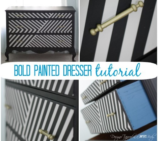 Learn How to Paint a Dresser for a BOLD Statement + a Giveaway
