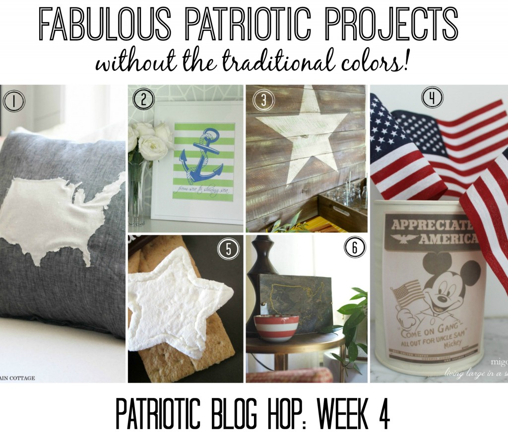 Patriotic Projects without the traditional colors!