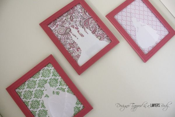 Easy, thrifty DIY Princess Art