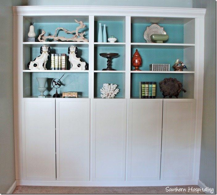 10 fabulous ikea hacks how to customize ikea furniture for Ikea closed bookcases