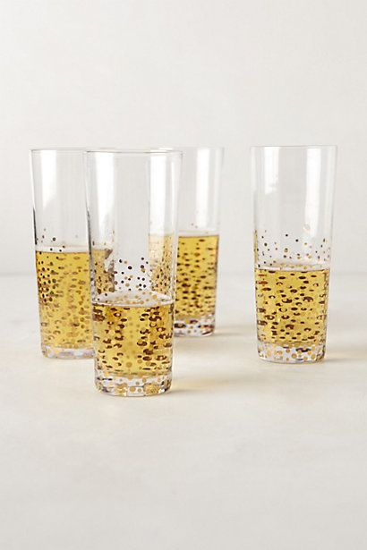 AWESOME Metallic Dotted Glasses tutorial!  Inspired by Anthropologie, for a fraction of the cost!