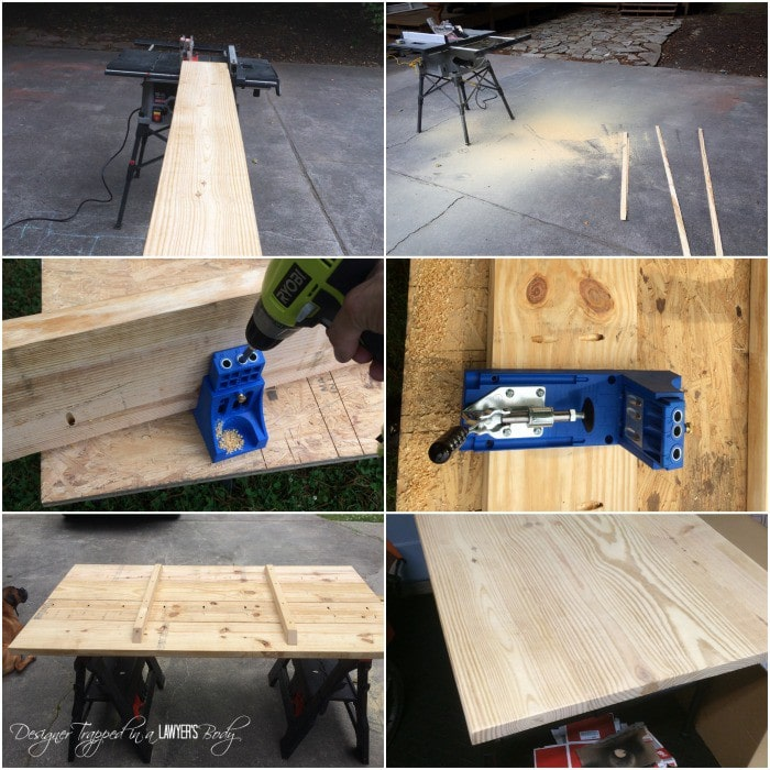 DIY Pipe Table  full tutorial by Designer Trapped in a Lawyer s. DIY Pipe Table Tutorial   How We Saved  1 800   Designer Trapped