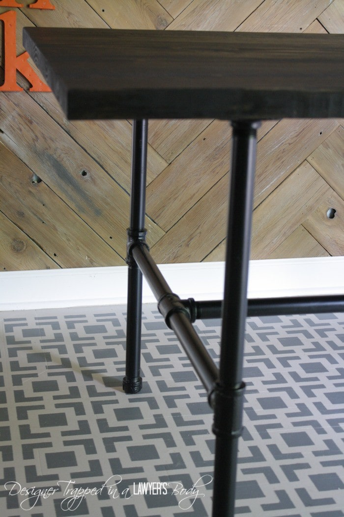DIY Pipe Table  Full Tutorial By Designer Trapped In A Lawyeru0027s