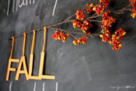 10 Minute DIY Fall Banner + AWESOME Silhouette Promotion