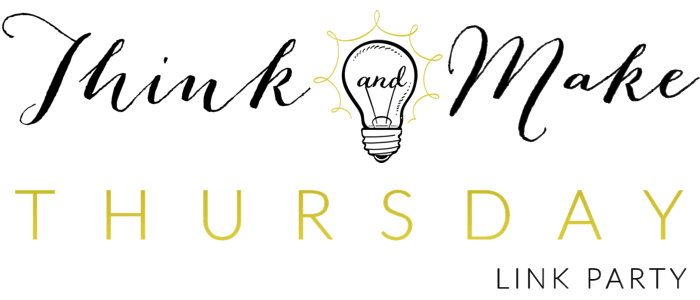 Think and Make Thursdays No. 6 + Features