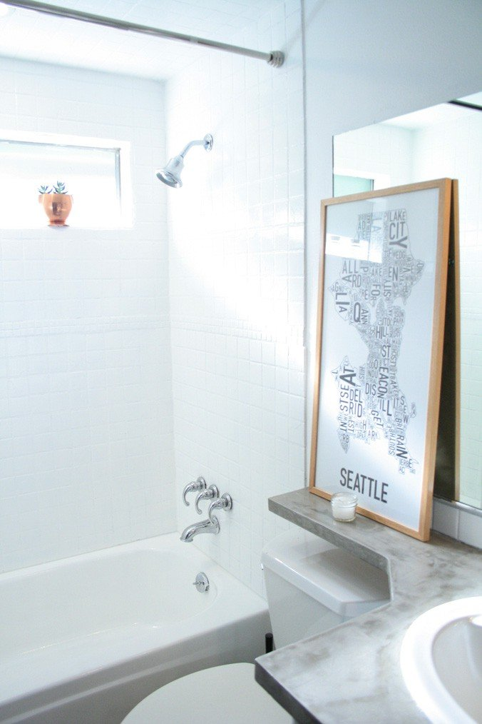 How To Paint Shower Tiles White A Budget Remodel Option