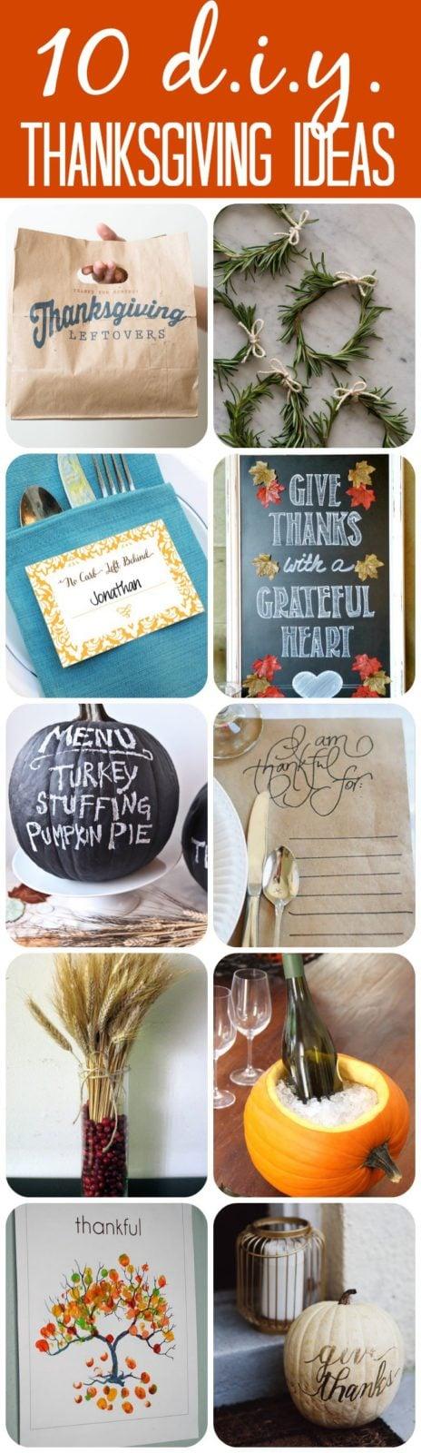 Inspiring diy thanksgiving crafts and decor designer